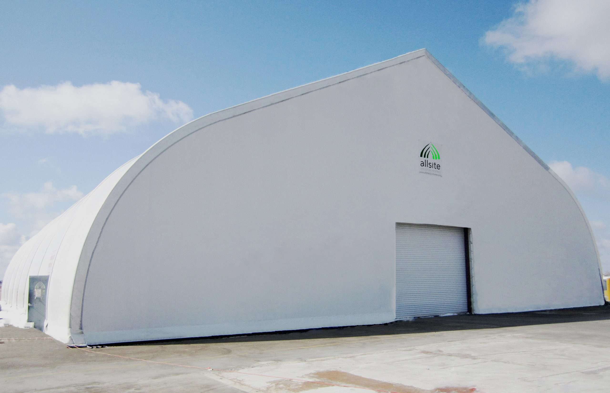 canvas structure for sporting events tension fabric structure