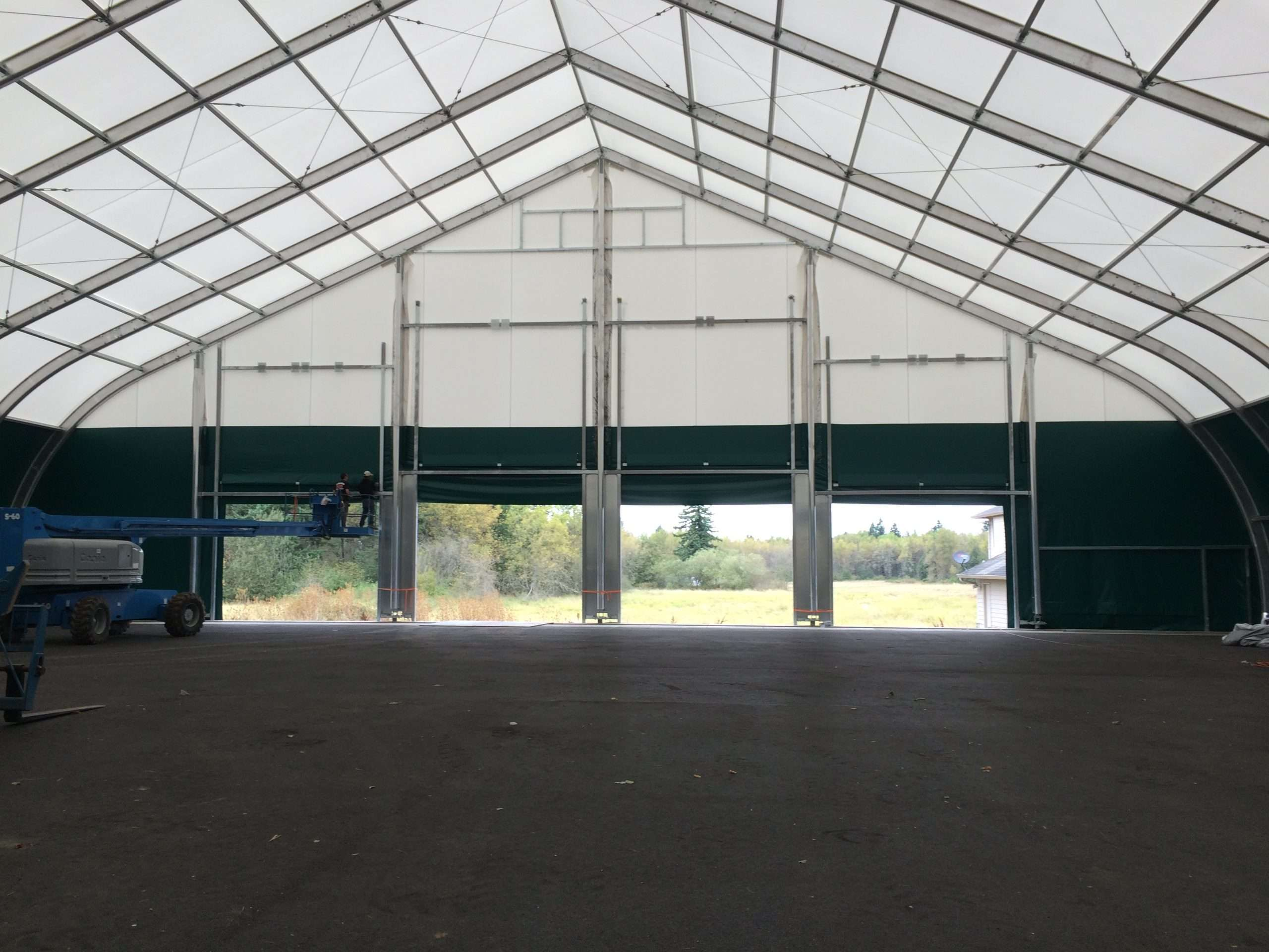 Why Tension Fabric Structures Are a Great Choice for Temporary Building Needs