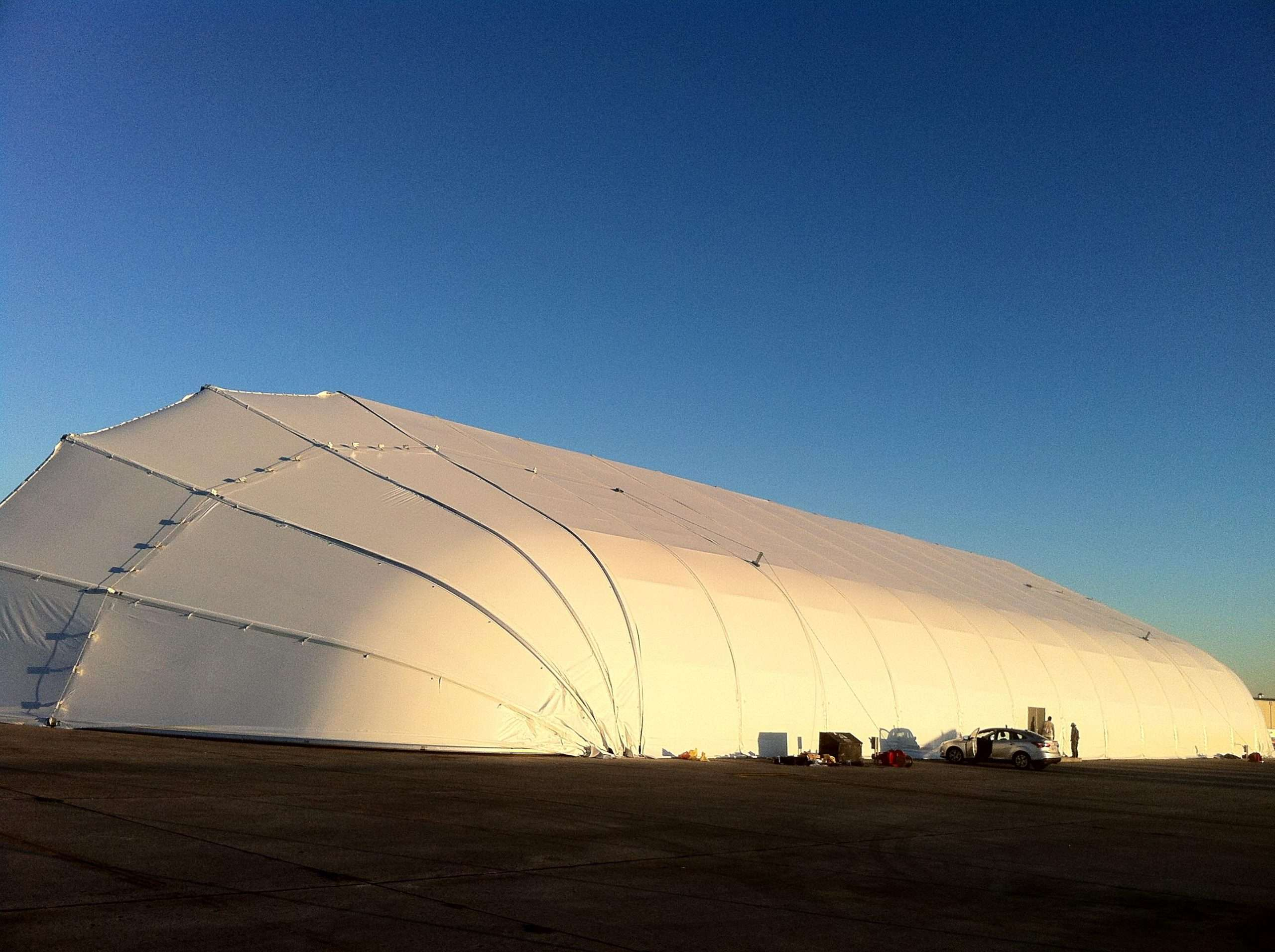 Tension Fabric Aircraft Hangars a Sustainable Aviation Solution