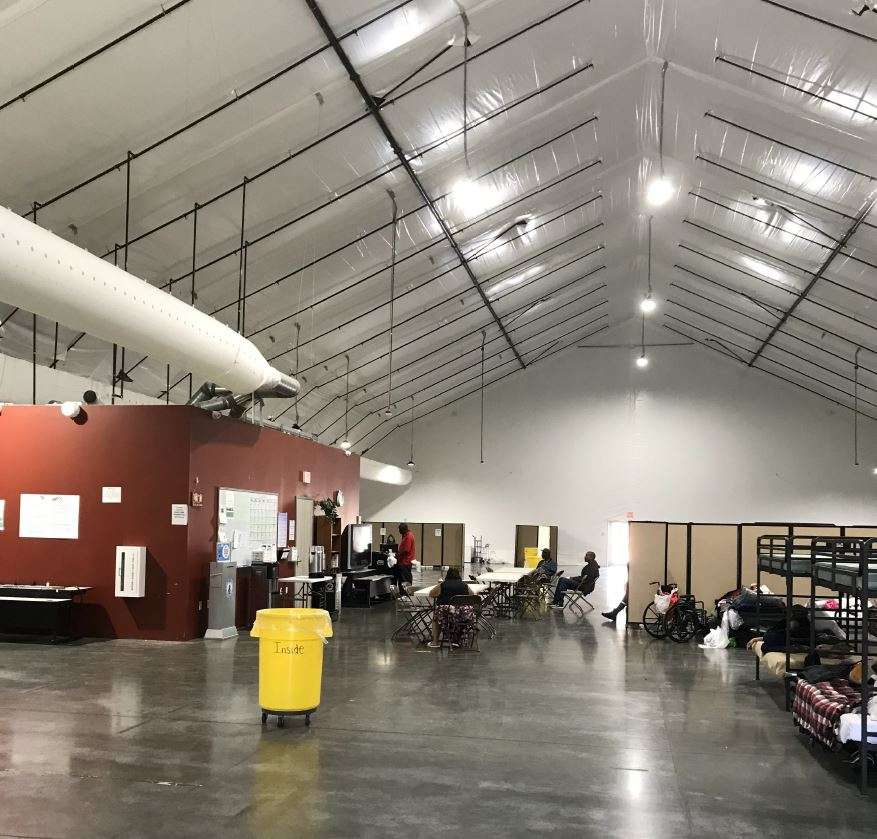 Fabric Structure Homeless Shelter Solution for Pomona CA