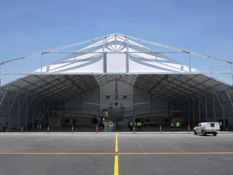 aviation fabric hangars