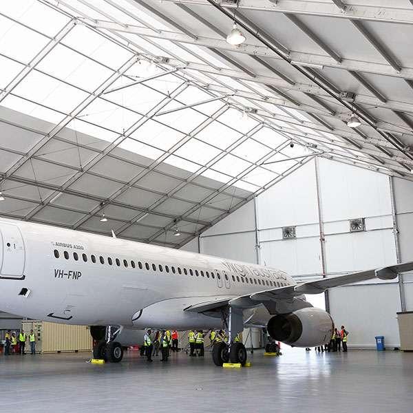 Using Aircraft Hangars