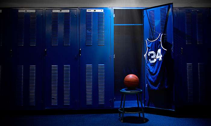 Basketball Lockers