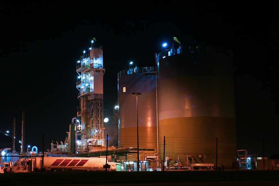 Fabric Building Structures Meet LNG Processing Needs