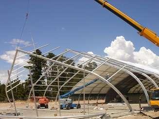 TFS construction enclosure framing