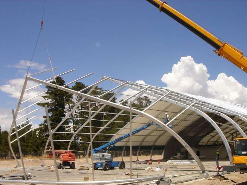 Construction Enclosure Framing
