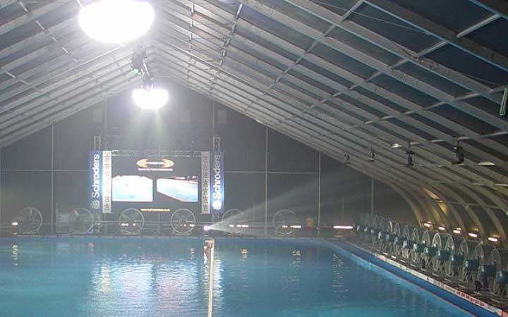 fabric pool enclosure