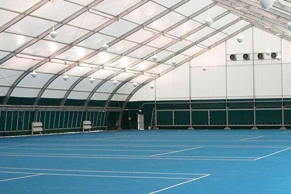 indoor sports structures