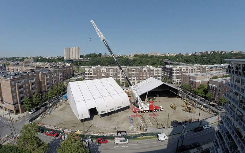 Renting Fabric Structures for Your Remediation Site