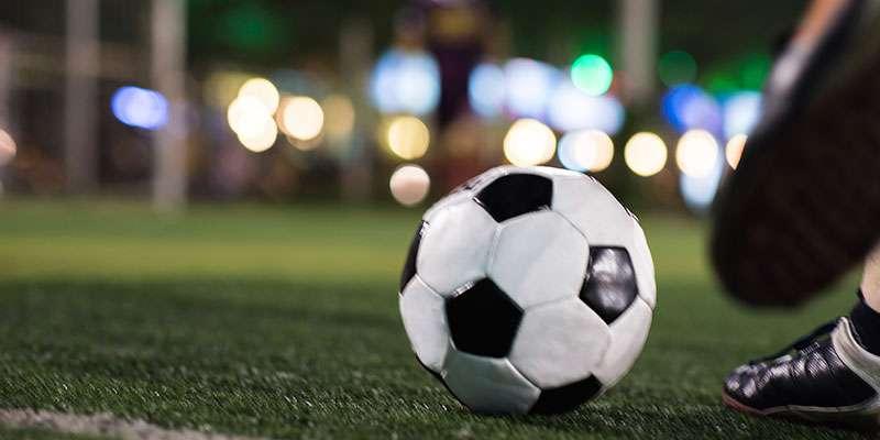 soccer field enclosure