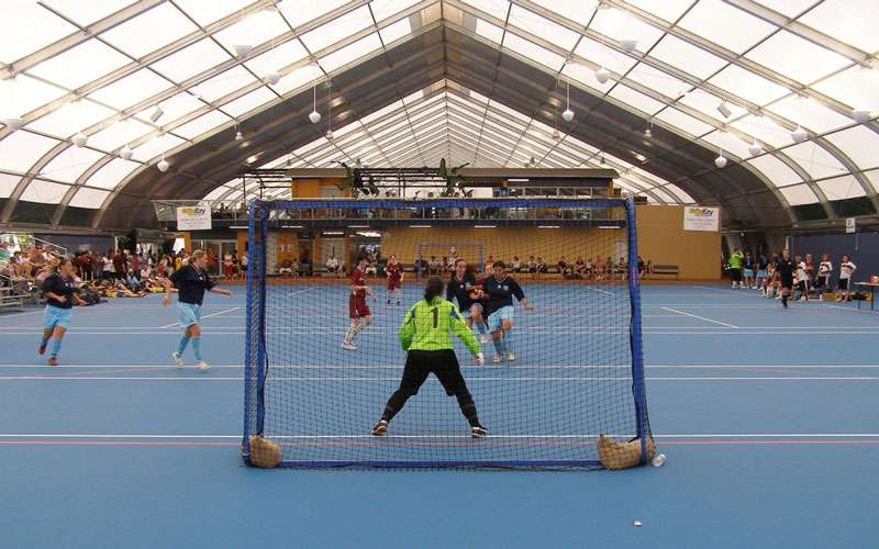 soccer field fabric structure