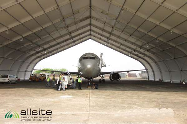 The Military's Surprising New Use for a Temporary Hangar