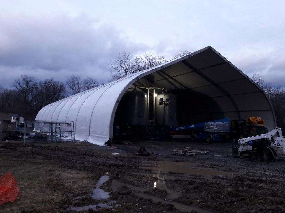Fabric Structure Assists Rapid Response to Drinking Water Environmental Cleanup